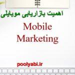 بازاریابی موبایلی ، موبایل مارکتینگ ، اهمیت بازاریابی موبایل