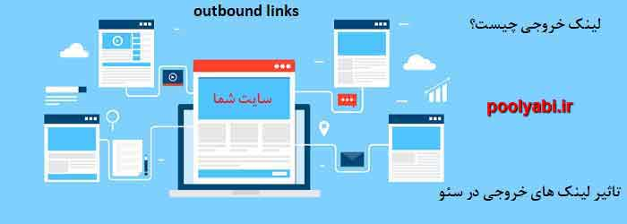لینک خروجی ، جایگاه لینک خروجی در سئو ، اهمیت لینک و لینک سازی ، outbound link